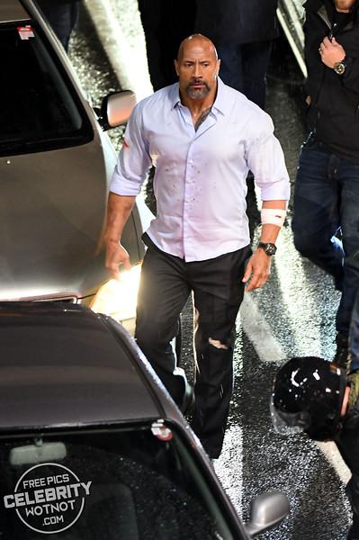 Dwayne The Rock Johnson Arrested On Set Of Skyscraper, Canada