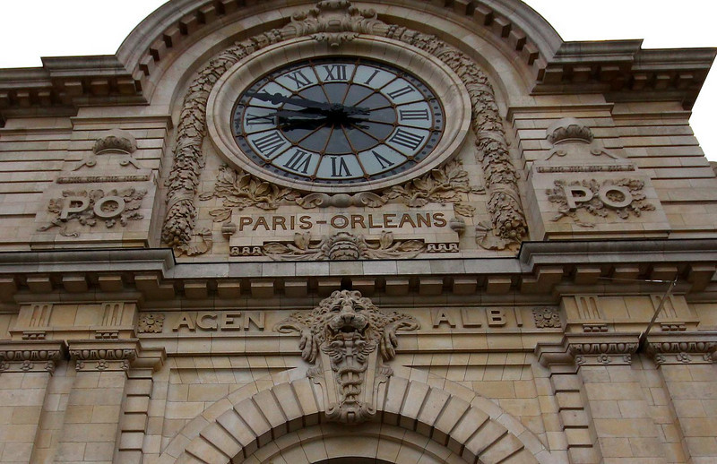 Facade of the Orsay Museum.