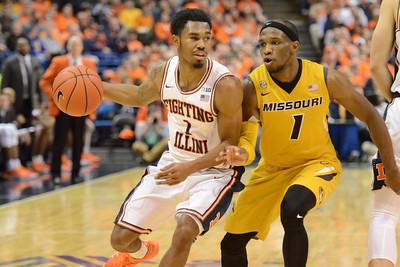 Basketball - Mizzou 2016-17 - Illinois