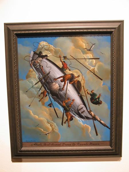 Ahab's Boat Seemed Drawn Up Towards Heaven