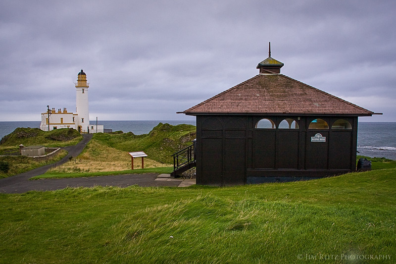 The Halfway House at Turnberry Ailsa course. A beautiful spot to get a drink & relax before going back out into the wind.