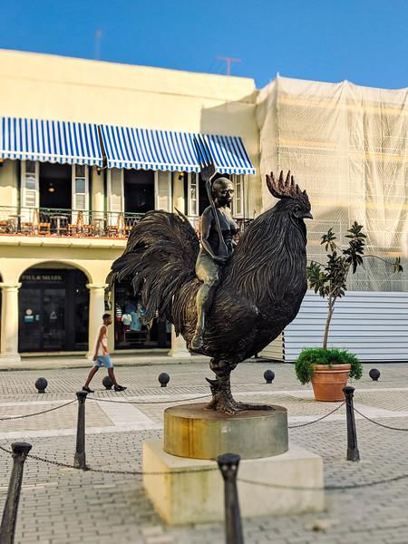havana plaza vieja rooster statue-2.jpg