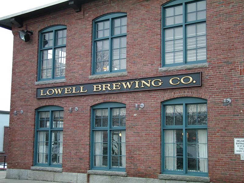 Lowell Brewing CO. - Lowell, MA