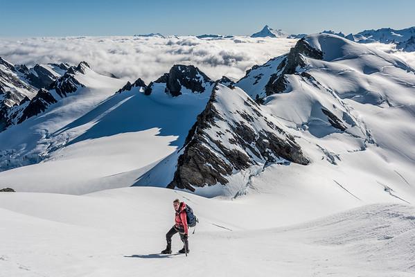 Olivine Ice Plateau, 10 - 17 December 2014