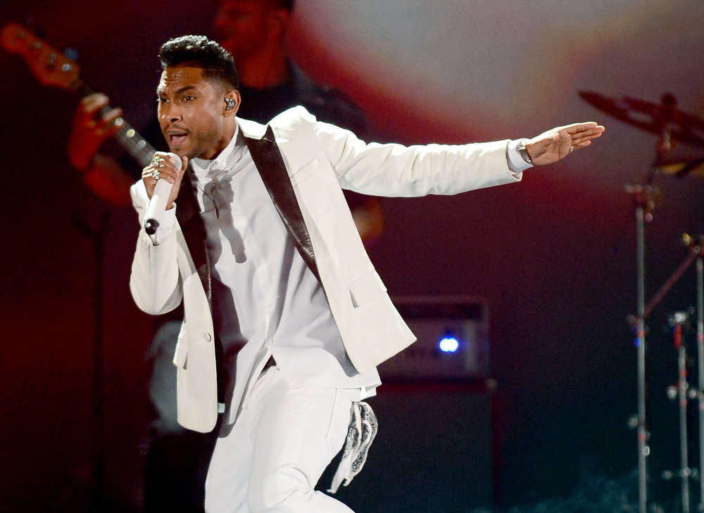 . Singer Miguel performs onstage during the 2013 Billboard Music Awards at the MGM Grand Garden Arena on May 19, 2013 in Las Vegas, Nevada.  (Photo by Ethan Miller/Getty Images)