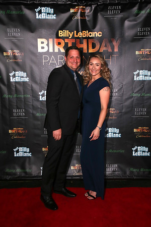 Billy LeBlanc Birthday Party Night Celebration