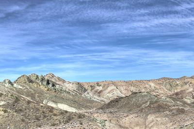 Rainbow Basin and Trona Pinnacles Jan 2012