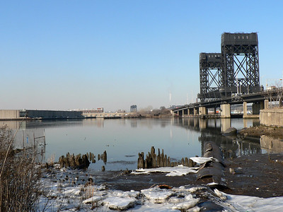 Morris Canal in Jersey City (Dec. 2009).