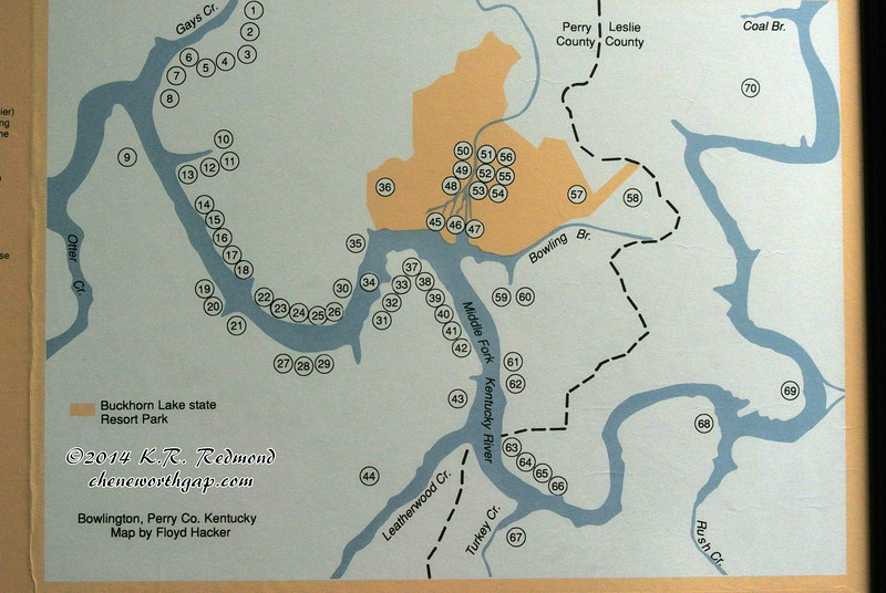 Bowlingtown Map