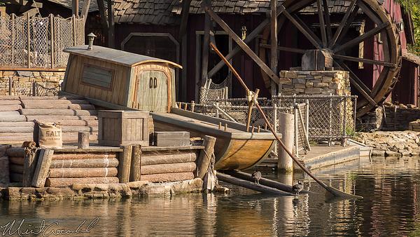 Disneyland Resort, Disneyland, Frontierland, Tom Sawyer Island, Fantasmic