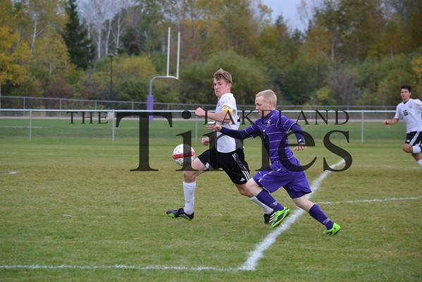 Lakeland soccer at Ashland: Regional Finals 10-17-13