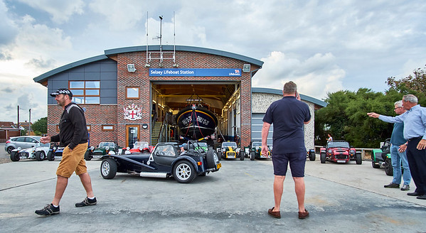 West Sussex Lotus 7 Club - Selsey RNLI Lifeboat Station 2018