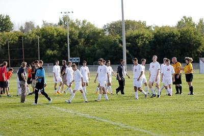 Boys Varsity Soccer - 9/14/2015 Grant (KK)