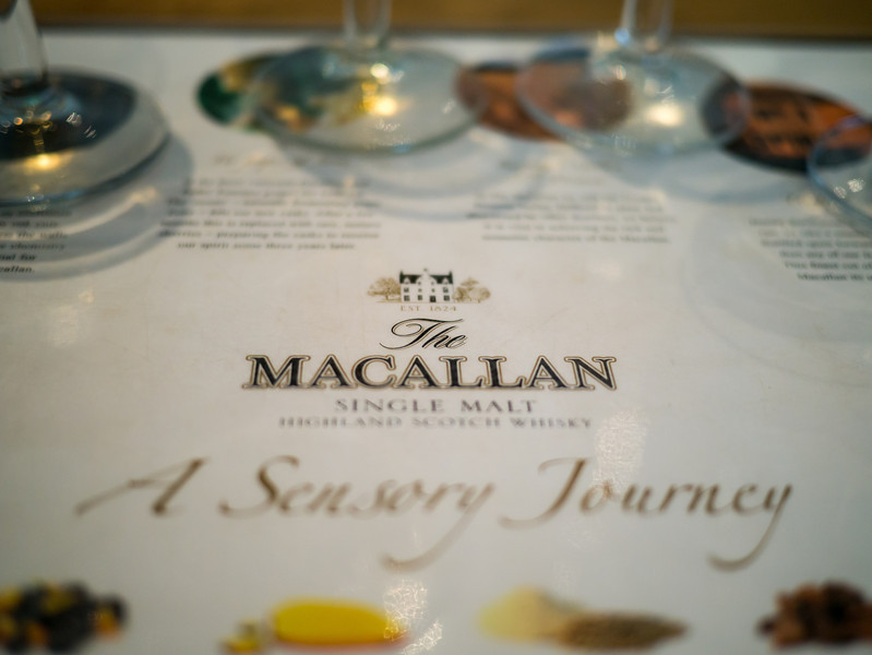 Whisky tasting at The Macallan
