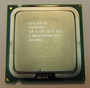 2012-03-02, Pentium-4 630 3GHz for sale