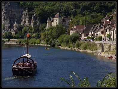 La Roque-Gageac (Aquitaine/Dordogne)