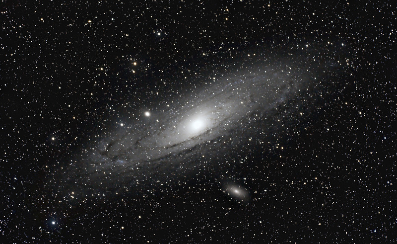 The Great Galaxy in Andromeda