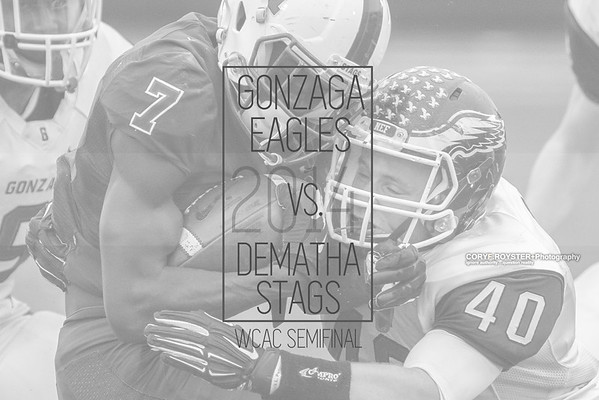 Gonzaga vs DeMatha - WCAC Semifinal