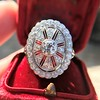 2.23ctw Old European Cut Diamond Filigree Ring 18