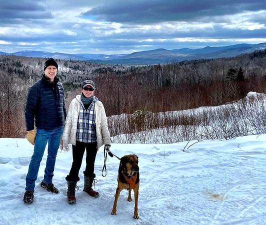 Maine cabin March 2021