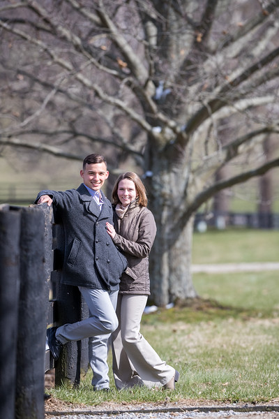 Andre & Laurel at Airdrie Stud 3.14.18