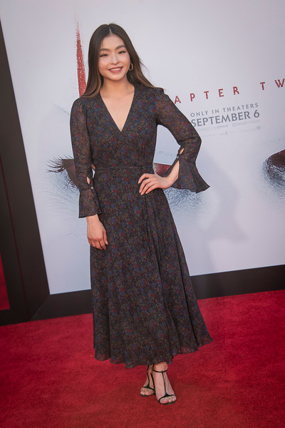 "WESTWOOD, CA - AUGUST 26: Maia Shibutani attends the Premiere Of Warner Bros. Pictures' ""It Chapter Two"" at Regency Village Theatre on Monday, August 26, 2019 in Westwood, California. (Photo by Tom Sorensen/Moovieboy Pictures)"
