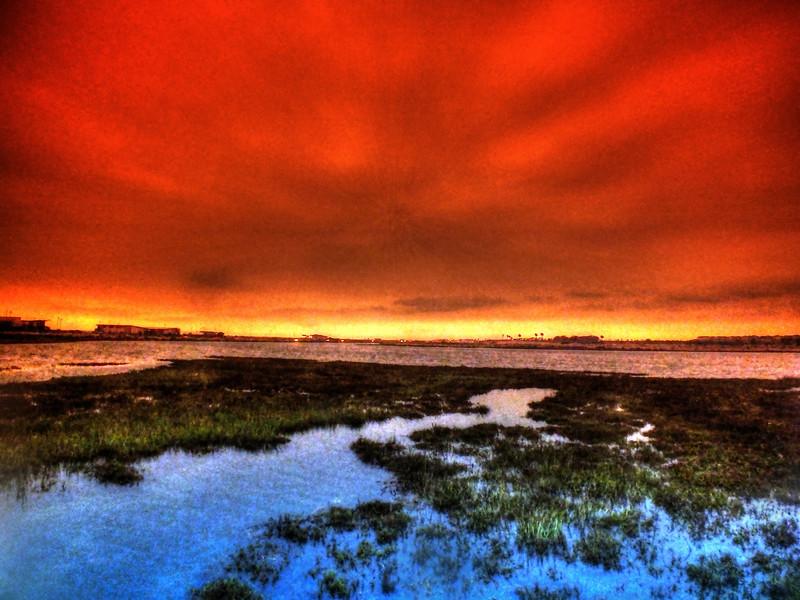 Sunset Bolsa Chica Wetlands Huntington Beach California.jpg