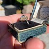 1.97ctw Antique Cluster Ring, GIA G SI2 40