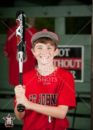 2011-03-29 Baseball SJS Team Portraits