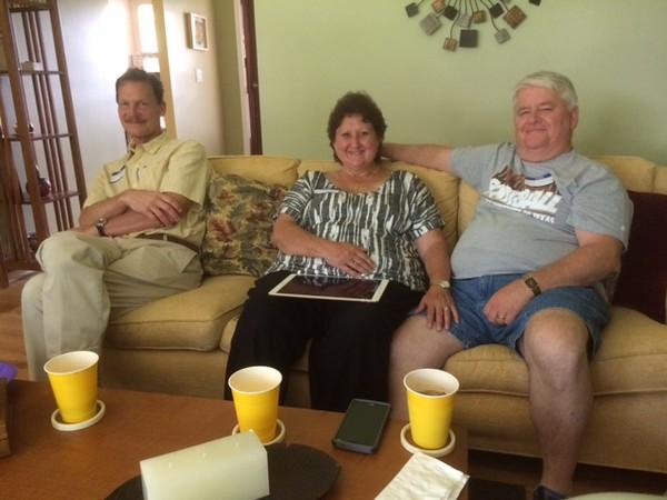 6-11-16. Scott Gloodt, Lisa and Dave Bogan.JPG
