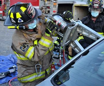 Extrication drill - Fugle's Auto Parts Livonia, NY 8/10/20