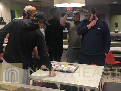2019-10-20 FB Saylor Feeding Offensive Group at McDonalds