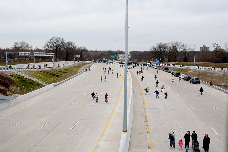 Walking and Biking on the New Highway