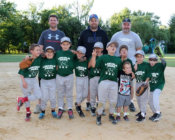 6-9-16 Baseball game vs. LP Blue Team - playoff game