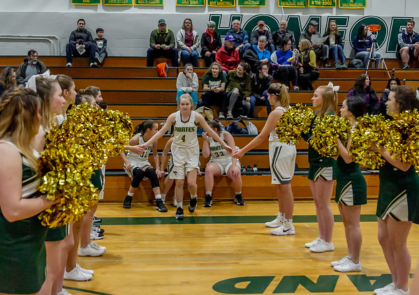 Pregame and Introductions, Set one: Girls Varsity Basketball v Sultan 12/14/2018
