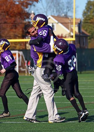 Jr. Pee Wee Purple v. Fairport Red Raiders (WNY Championship) 11-2-08