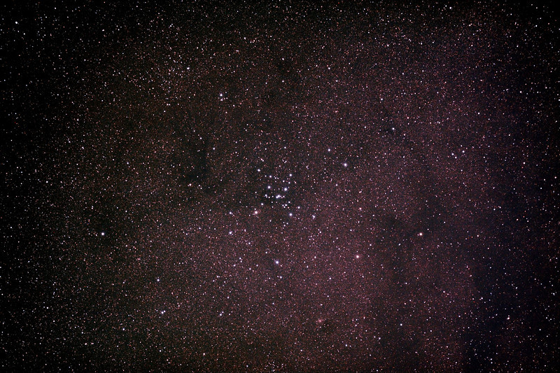 Messier M7 - NGC6475 - Ptolemy's Cluster in Scorpius - 2/10/2013 (Processed stack)