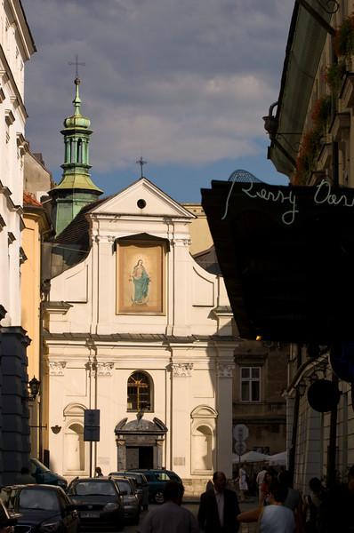 Poland, Cracow, Kosciol Sw Jana, St John's Church