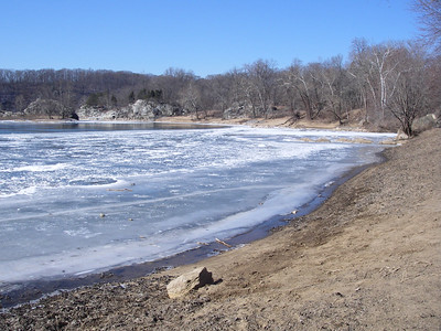 Frozen Potomac - February 10th, 2007