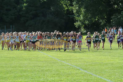 Girls Varsity Start - 2014 Budd Cicciarelli Adams Invitational