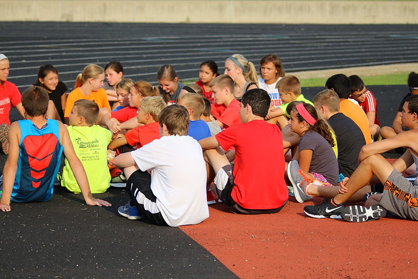 Cross Country 2015 - First Day Of Practice 081715