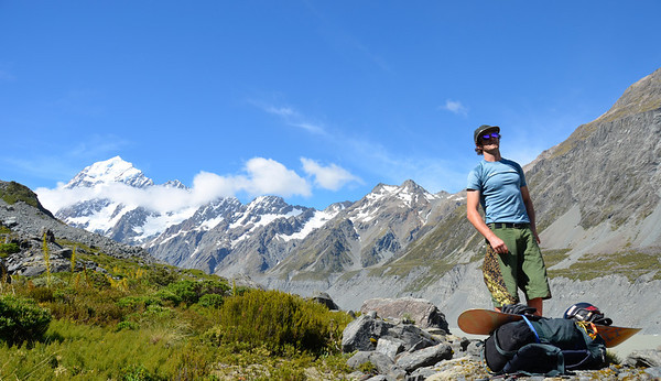 2013/12/Cadogan Peak, Hooker Valley