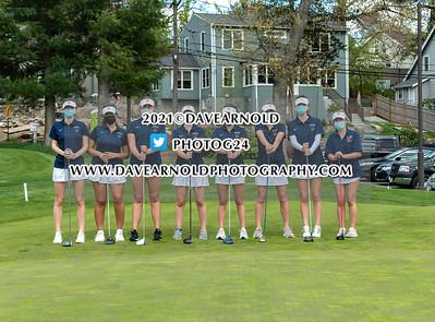 5/10/2021 - Girls Varsity Golf - Needham