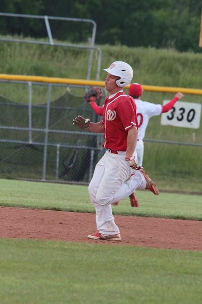 WHS Baseball Regional vs Rose Hill 051816