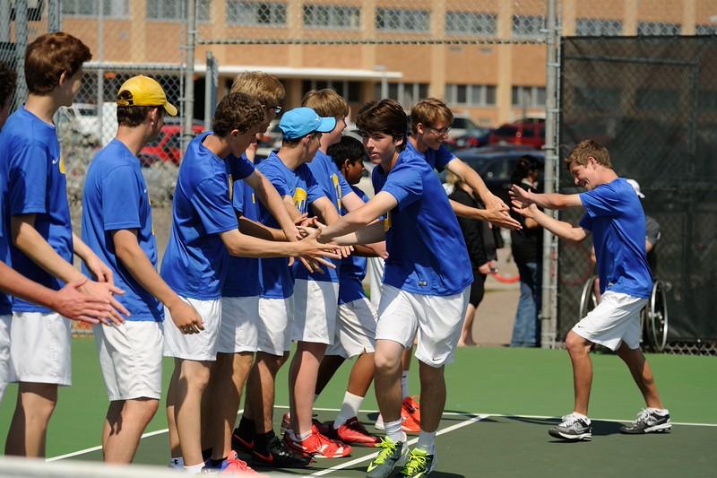 Wayzata vs East Ridge Boys Tennis