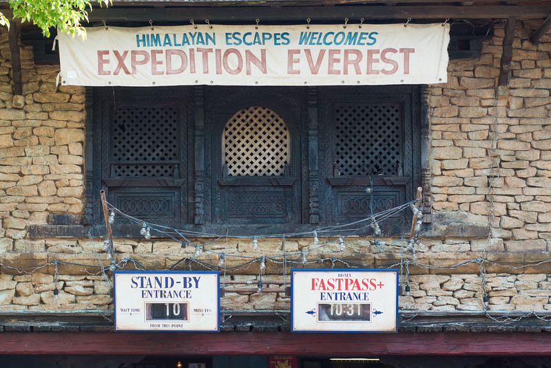 Expedition Everest Short Wait - Animal Kingdom Walt Disney World