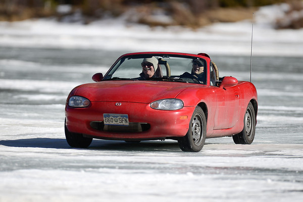 Miatas at the RMR Eiskhana