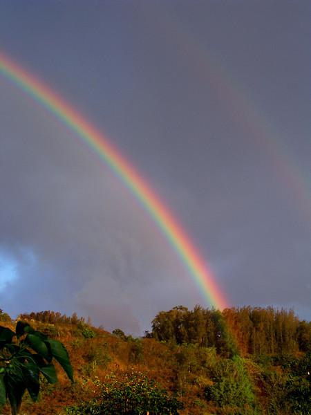 Rainbow over Pupukea   North Shore of O'ahu, Hawai'i