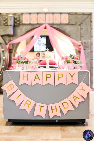 Sonika First Birthday