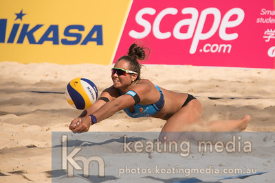 Beach Volleyball -  NSW State Open Women's Final at Manly Beach